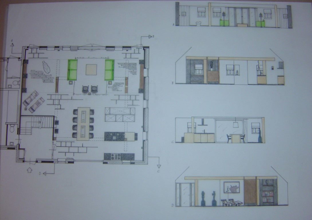 July 9th 2014 degree as interior architect may 2007 for Turn floor plan into 3d model
